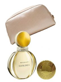 Goldea Gift Set for Women (edP 90ml + Beauty Mirror + Beauty Pouch) by Bvlgari