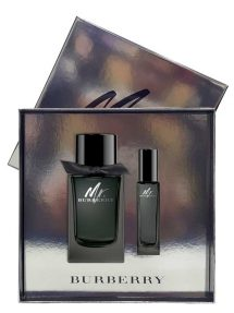 Mr Burberry Gift Set for Men (edP 100ml + edP 30ml) by Burberry