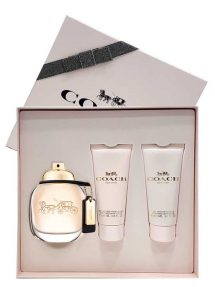 Coach Gift Set for Women (edP 90ml + Perfumed Body Lotion + Perfumed Shower Gel) by Coach