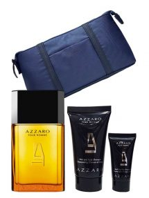 Azzaro pour Homme Gift Set for Men (edT 100ml + Soothing After Shave Balm + Hair and Body Shampoo) by Azzaro