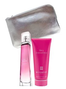 Very Irresistible Gift Set for Women (edT 75ml + Sensation Body Veil + Pouch) by Givenchy