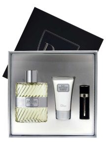 Eau Sauvage Gift Set for Men (edT 100ml + Shower Gel + Refillable Pocket Spray 3ml) by Christian Dior