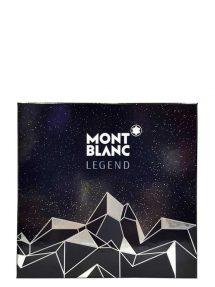 Legend Gift Set for Men (edT 100ml + After Shave Blam + All Over Shower Gel) by Mont Blanc