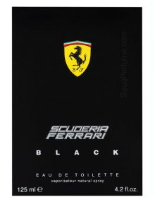 Ferrari Black Scuderia for Men, edT 125ml by Ferrari