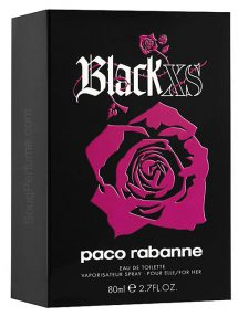 Black XS for Women, edT 80ml by Paco Rabanne