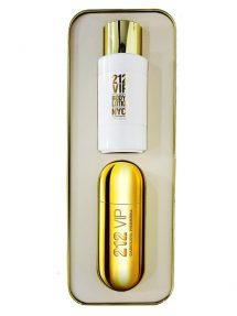 212 VIP Gift Set for Women (edP 80ml + Lotion) by Carolina Herrera