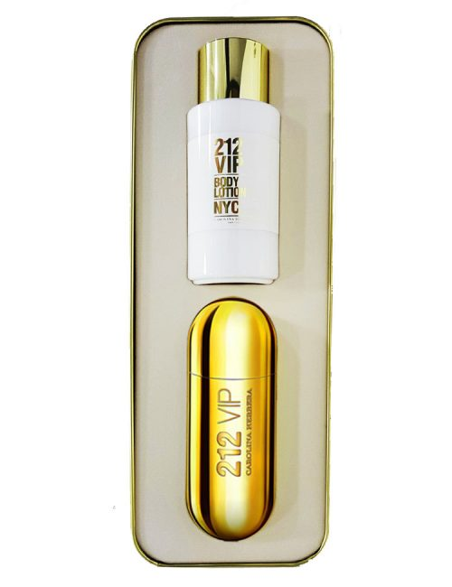 212 VIP Gift Set for Women (edP 80ml + Lotion) by Carolina Herrera