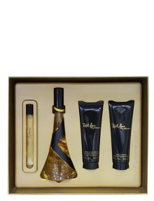 Reb'l Fleur Gift Set for Women (edP 100ml + Body Lotion + Bath and Shower Gel + Mini 10ml) by Rihanna