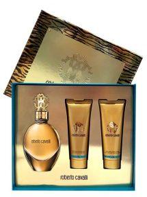 Roberto Cavalli Gold Gift Set for Women (edP 75ml + Perfumed Body Lotion + Shower Gel) by Roberto Cavalli