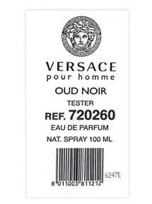 Oud Noir - Tester - for Men, edP 100ml by Versace