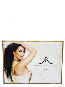 Kim Kardashian Gold Gift Set for Women (edP 100ml + Body Lotion + Cream Body Wash) by Kim Kardashian